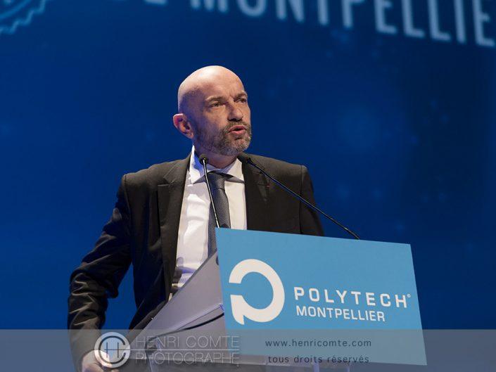 Philippe Augé - Président de l'Université de Montpellier