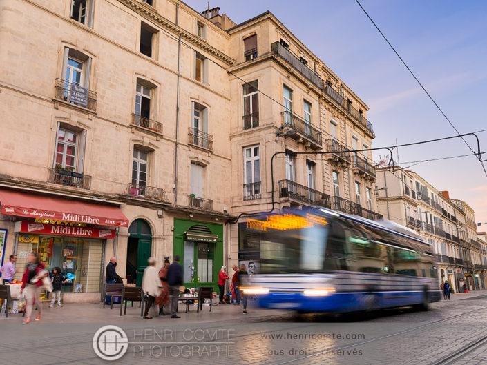 Mobilité urbaine à Montpellier Bus