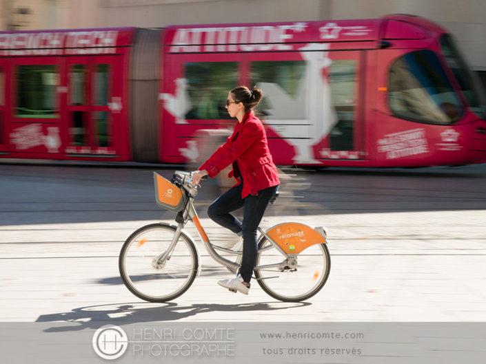Mobilité urbaine à Montpellier
