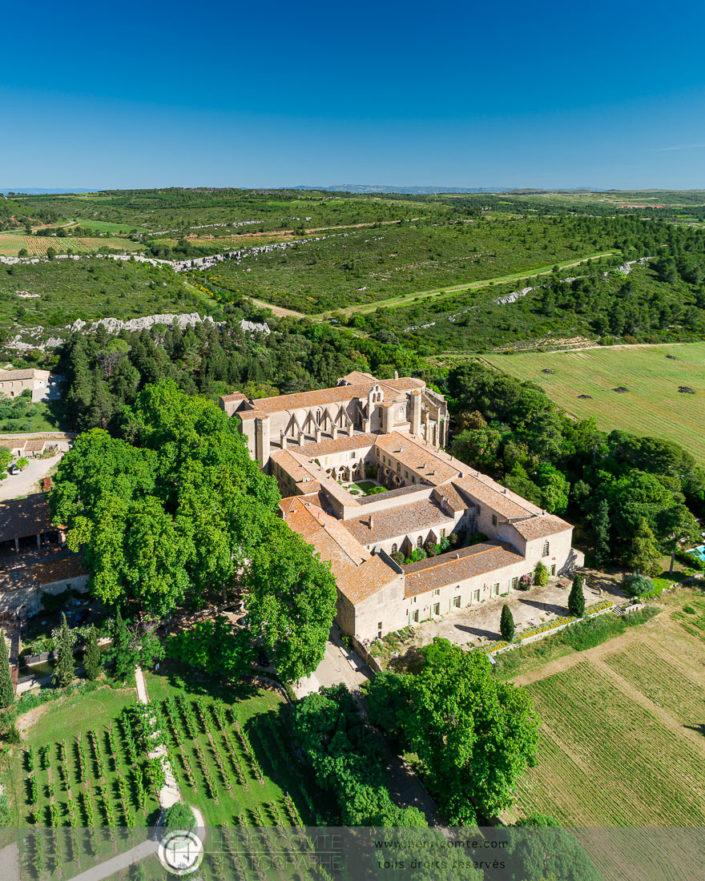 abbaye valmagne drone photo