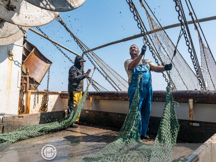 Pêche chalutier méditerranée Criee Agde