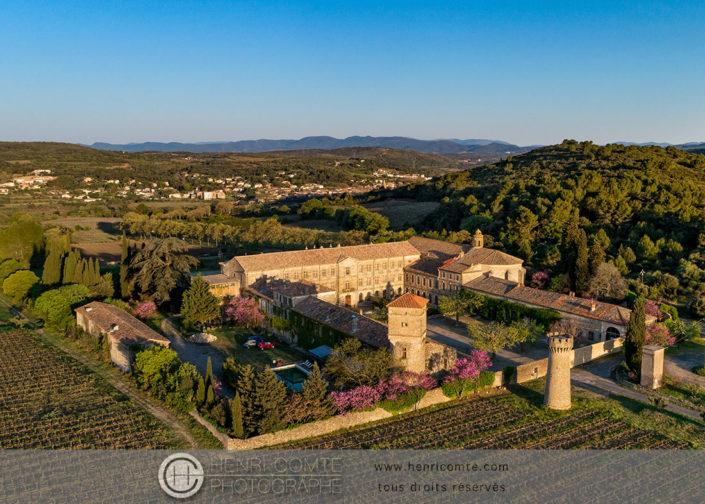 Abbaye de Cassian Photo en drone