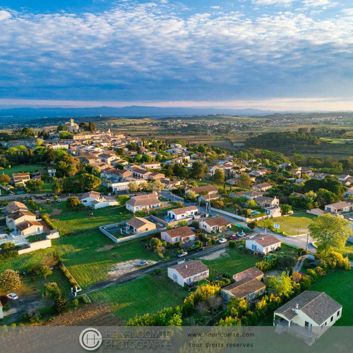 Saint-Pons de Mauchiens en drone